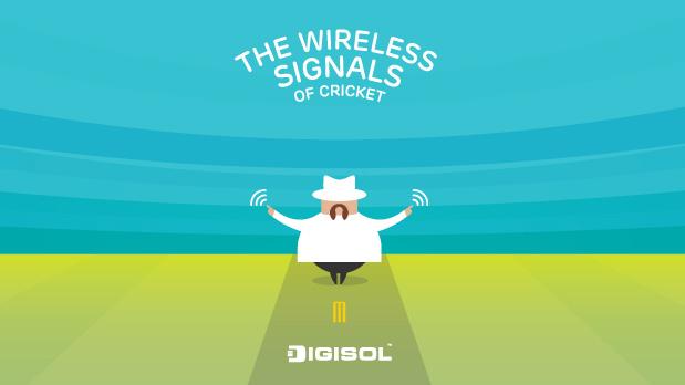 Wireless signals of Cricket